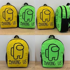 Молодіжний рюкзак Among Us однотонні (замовлення від 5 шт)