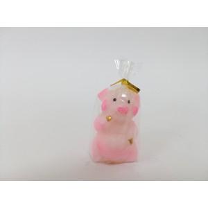 Новогодняя Свеча Свинка маленькая