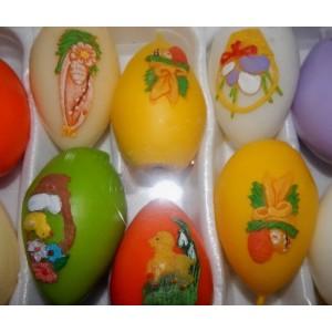 """Свічки """"Великоднє яйце велике"""", набір 15 шт (ціна за 1 шт)"""