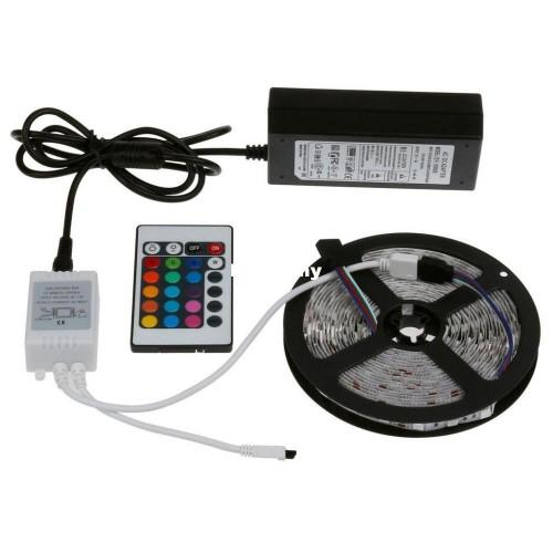 Светодиодная Лента 5050 RGB + комплект (5 метров)