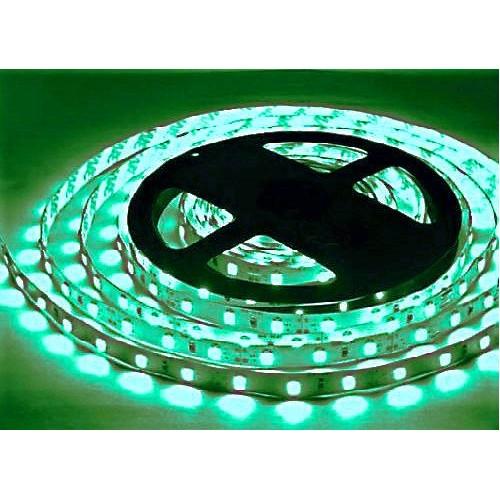 Светодиодная лента SMD 3528 60 шт/м Зелёная (цена за 5 метров)