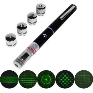 Указка laser green 5in1