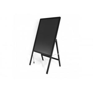 Флуоресцентна дошка для малювання на стійці, яка світиться c фломастером і серветкою 50 * 70 (FLUORECENT BOARD WITH STAND, ART-6981)