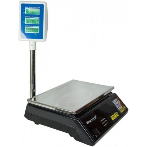 Весы торговые электронные NOKASONIC 40кг со стойкой