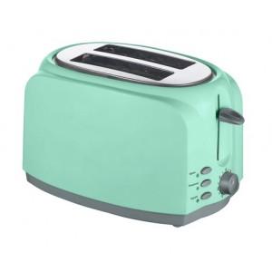 Тостер VT0727 green (750 Вт, піддон для крихт, розморожування/підігрів)
