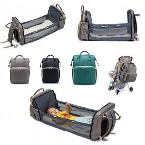 Дитячий портативний рюкзак-ліжечко Baby Travel Bed-Bag