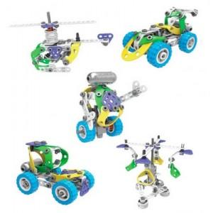 Конструктор Build&Play 5 в 1 з мотором,109 елементів J-7783