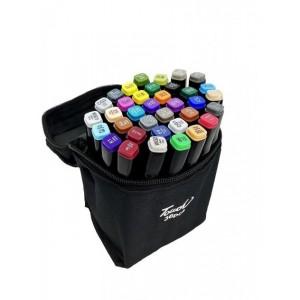 Набор маркеров для скетчинга (36шт., черный)