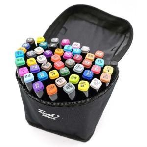 Набор маркеров для скетчинга (48шт., черный)