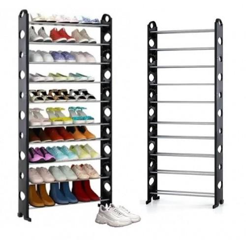 Полка для обуви Shoe rack (10 полок, 30 пар)