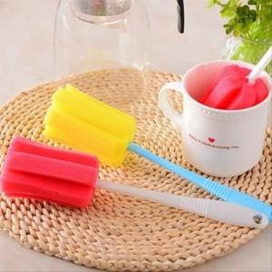Губка з ручкою для миття посуду