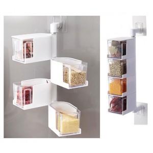Кухонна полиця (4-рівневий контейнер) для зберігання спецій