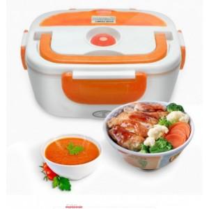 Ланч бокс ОРАНЖ с подогревом от сети 220V - Electric lunch box (24)