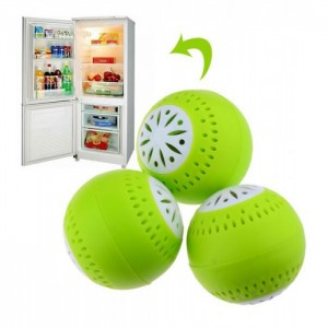 Поглотитель запаха в форме шарика Fridge Balls для холодильника  (Faberlic)