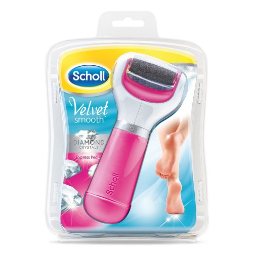 Scholl pink valet smooth