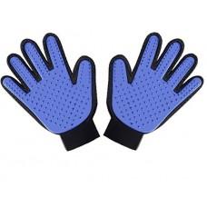 Перчатка щетка для чистки животных Pet Glove