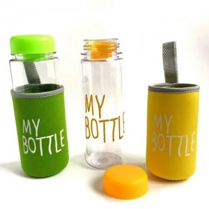Пляшка з чохлом My Bottle FRUITS CUP SL 480