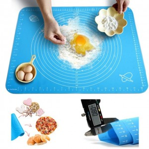 Силіконовий килимок для випічки 40 * 30см 7466 (для розкочування тіста)