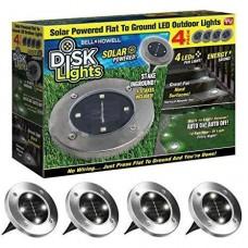 Солнечные уличные светильники Solar Disk lights