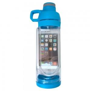 Спортивна пляшка Bottle 5s з відсіком для мобільного телефону
