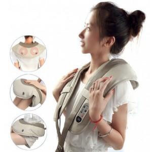 Ударний масажер для спини, плечей і шиї Cervical Massage Shawls