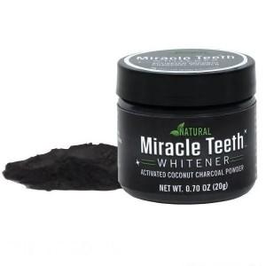 Відбілювач зубів Miracle Teeth Whitener (чорна зубна паста)