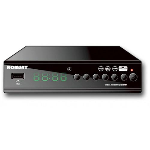 DVB Т2 тюнер для цифрового ТВ Romsat T2090
