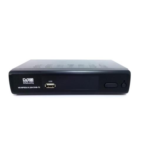 DVB T2 тюнер для цифрового ТВ  T777 c YouTube IPTV 4K