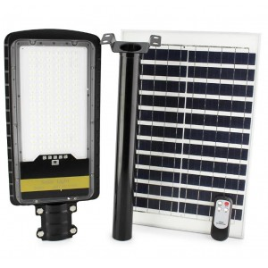 Уличный фонарь на столб с солнечной панелью JD 298, 300W, VPP, пульт
