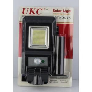 Уличный фонарь на столб с солнечное панелью JD S80 With