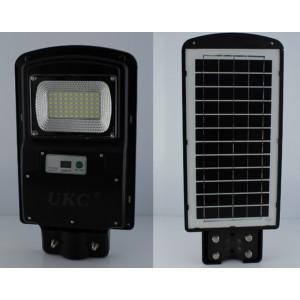 Уличный фонарь на столб с солнечное панелью R1 1VPP, пульт