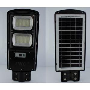 Уличный фонарь на столб с солнечное панелью R2 2VPP, пульт