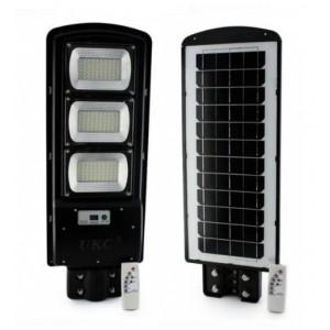 Уличный фонарь на столб с солнечное панелью R3 VPP, пульт