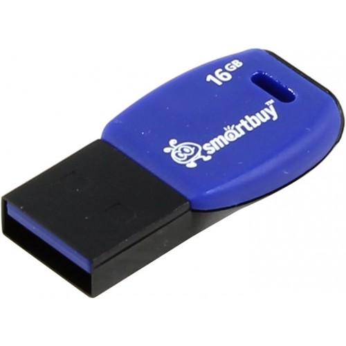 Флешка usb flash 16Gb Smartbuy Cobra Dark blue SB16GBCR-Db