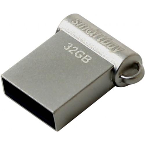 Флешка usb flash 32Gb Smartbuy Wispy Silver SB32GBWY-S