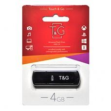 Флешка usb flash 4GB T&G 011 Classic series Black