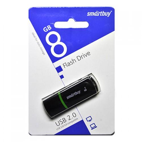Флешка usb flash 8Gb Smartbuy Paean Black