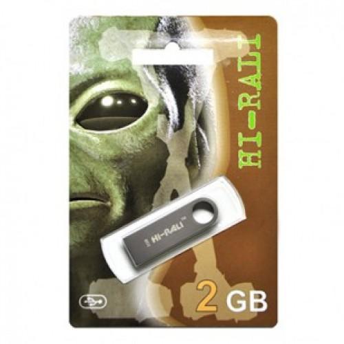 Флешка usb flash Hi-Rali 2GB Shuttle series Black
