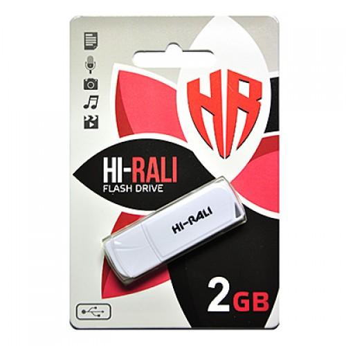 Флешка usb flash Hi-Rali 2GB Taga white