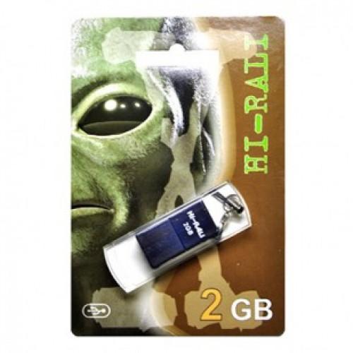 Флешка usb flash Hi-Rali 2GB Thor series Blue