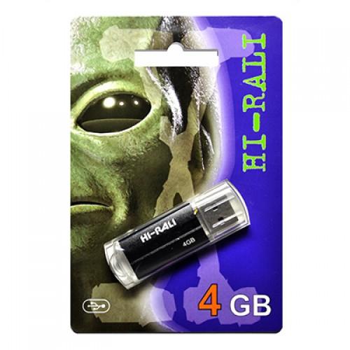 Флешка usb flash Hi-Rali 4GB Corsair series Black
