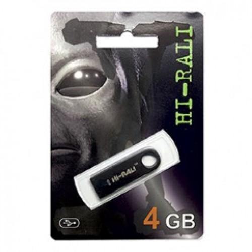 Флешка usb flash Hi-Rali 4GB Shuttle series Black