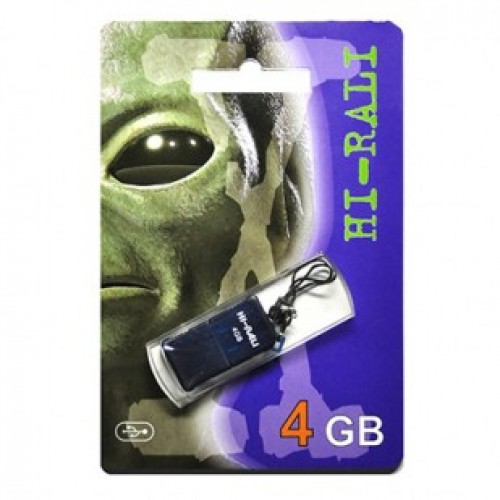 Флешка usb flash Hi-Rali 4GB Thor series Blue