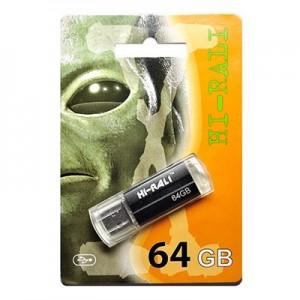 Флешка usb flash Hi-Rali 64GB Corsair series Silver