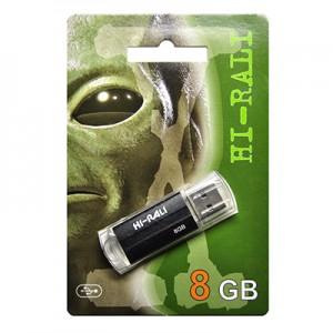 Флешка usb flash Hi-Rali 8GB Corsair series Silver