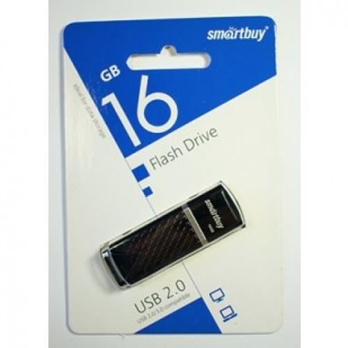 Флешка usb flash Smartbuy 16GB Quartz series Black