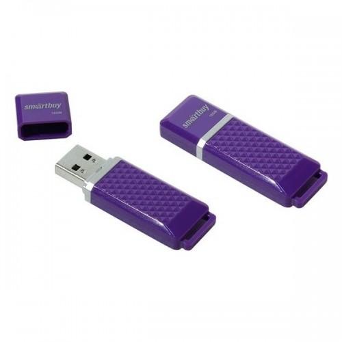 Флешка usb flash Smartbuy Quartz series Violet