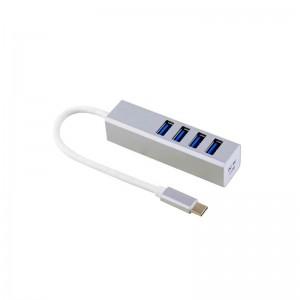 USB HUB 5Gbps 4Ports Hub Type-C
