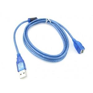 USB-кабель удлинитель 1.5 м Blue