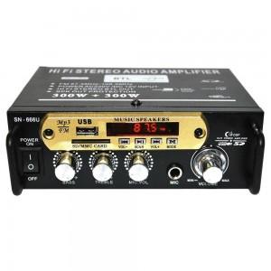 Підсилювач звуку AMP 666 BT